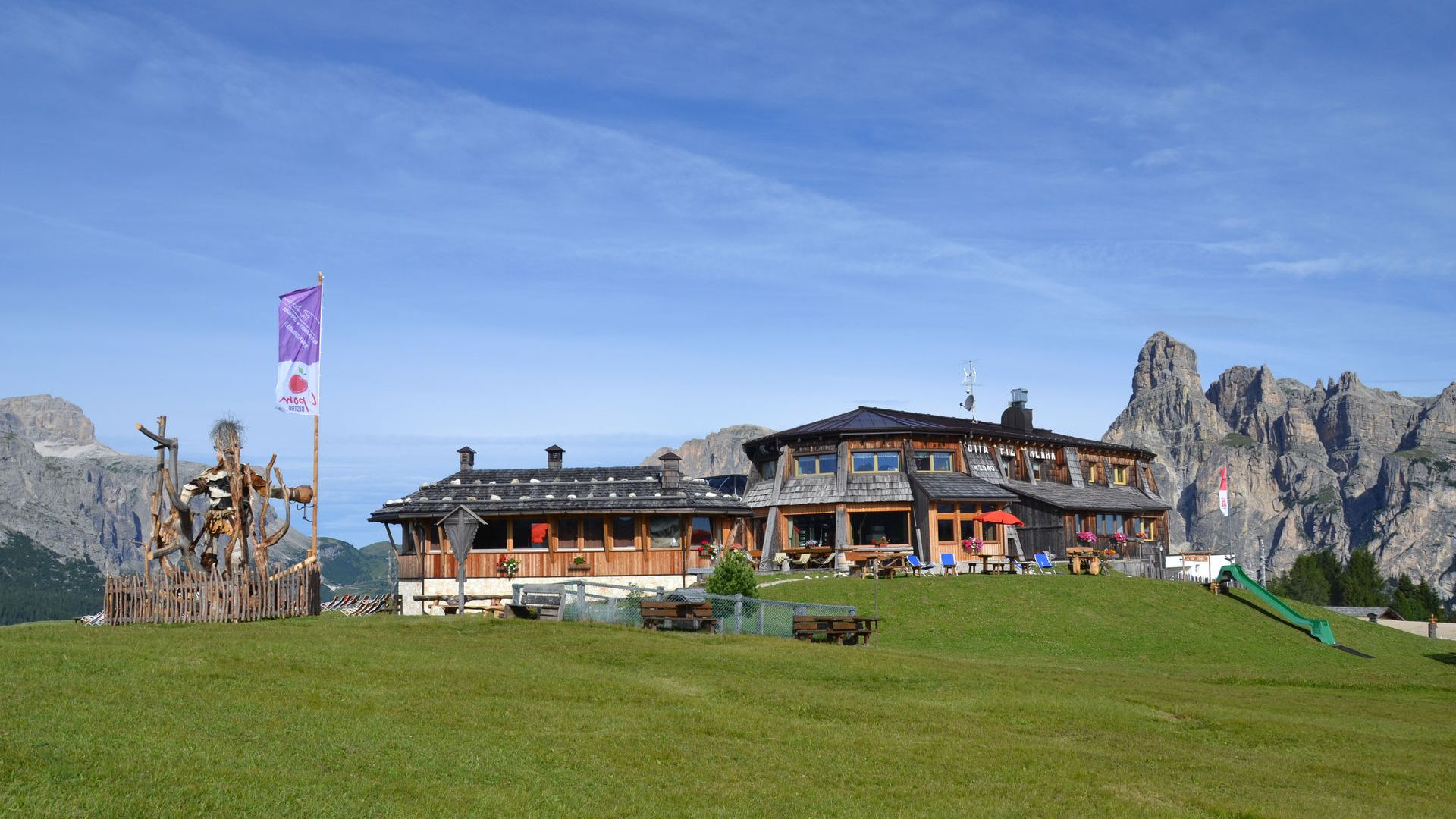 Image: the story of the Piz Arlara Alpine Restaurant