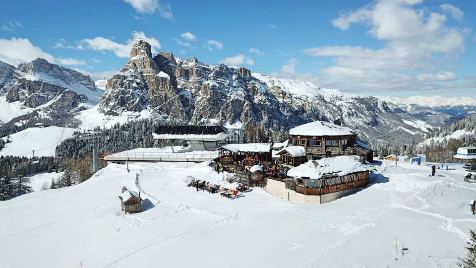 Image: On the ski slopes of Alta Badia
